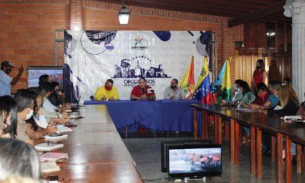 Alcalde del municipio Libertador dirigió gabinete de Gobierno municipal 2021