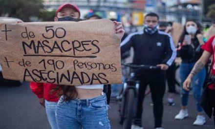 Colombia inició el 2021 con los asesinatos de una excombatiente y un líder social