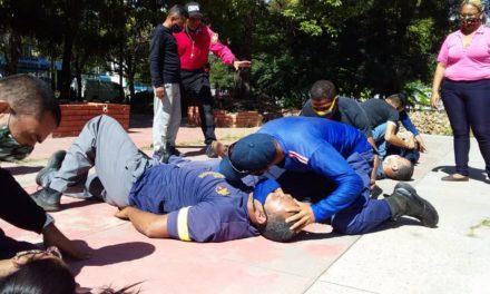 Coordinación Regional de Ambulancias Aragua incorporó nuevos técnicos a su equipo de trabajo