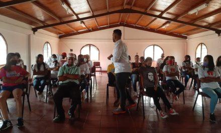 Ejecutivo regional impulsa Plan Especial de Formación Integral para la juventud del sur de Aragua