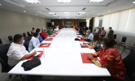 Gobernador Marco Torres estableció mesa de trabajo con diputados de la AN por el estado Aragua