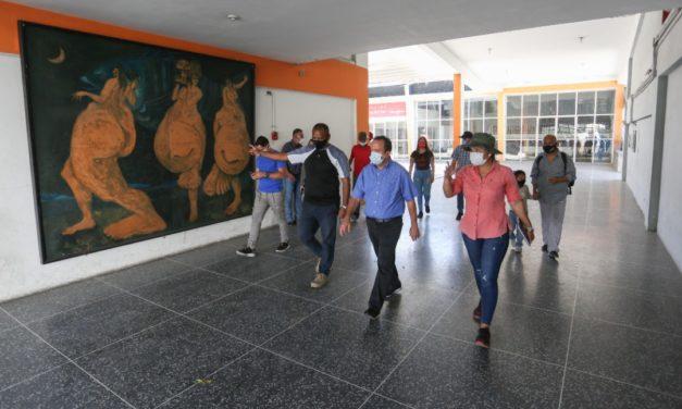Gobernador Marco Torres instruyó rehabilitación del complejo cultural Santos Michelena
