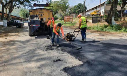 Gobierno Bolivariano de Aragua inició Plan de Bacheo en Magdaleno
