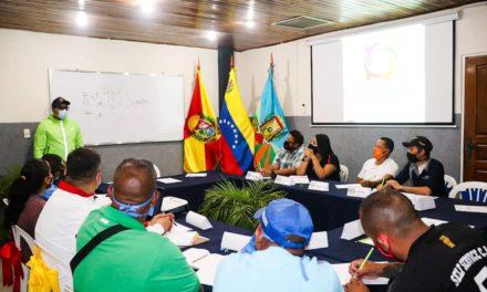 Instalado Estado Mayor de Servicios Públicos, Derecho a la Ciudad y Buen Vivir en Santos Michelena