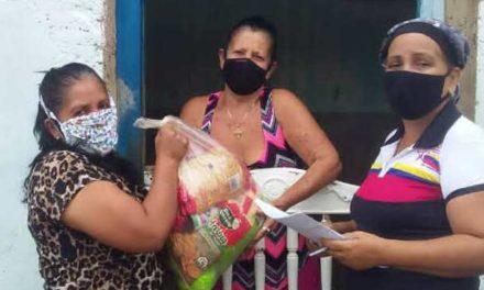 Más de 2 mil 300 familias de Bolívar fueron favorecidas con entrega de alimentos a través de los Clap