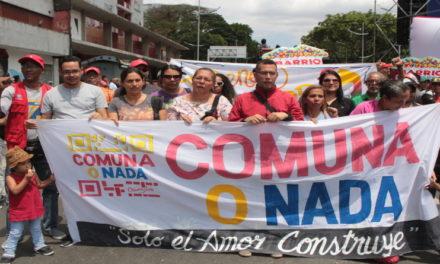 Presidente Maduro llamó a consolidar el modelo democrático, participativo y comunero