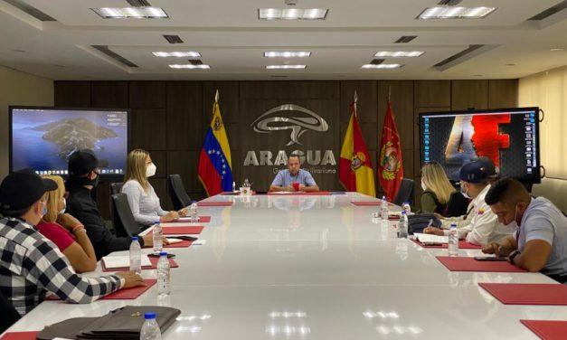 Primer mandatario regional instaló mesa de trabajo con Pdvsa Gas Comunal, Aragua Gas y alcaldes del sur de Aragua