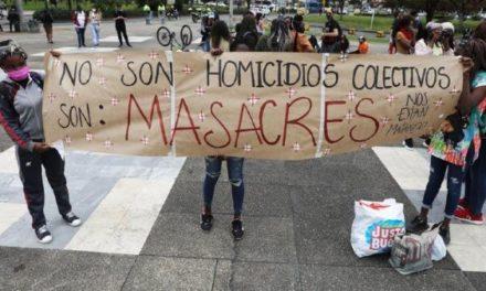 Reportan dos masacres en Colombia en las últimas 72 horas