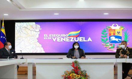 Vicepresidenta Delcy Rodríguez encabeza jornada de trabajo de la Comisión Presidencial para la Defensa del Esequibo
