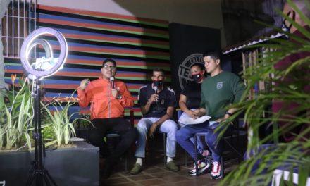 Alcalde Pedro Hernández relanza programa radial con transmisión en vivo en redes sociales