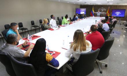 Ejecutivo regional estableció mesa de trabajo con alcaldes y alcaldesas de los 18 municipios