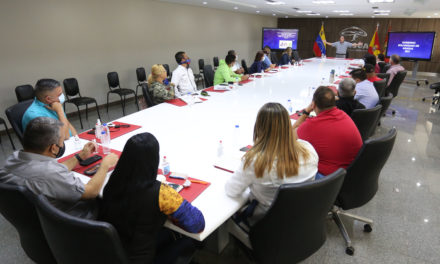 Gobernador Marco Torres estableció mesa de trabajo con alcaldes y alcaldesas de 18 municipios de la entidad