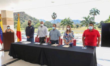 Gobernador Marco Torres participó en instalación del Órgano Estadal de Turismo