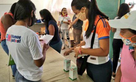 Gobierno Bolivariano brindó más de 10 mil atenciones médicas en el municipio MBI