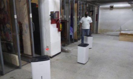 Gobierno Bolivariano de Aragua inició proceso de restauración de la bóveda del Museo de Arte Contemporáneo Mario Abreu