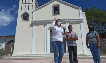Gobierno Bolivariano rehabilita Iglesia Nuestra Señora del Rosario de Zuata