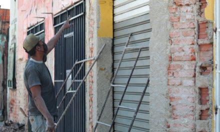 Gobierno de Libertador inició la rehabilitación y remodelación de fachadas en la calle 23 de Febrero en Palo Negro