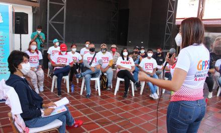 Alcaldesa Miriam Pardo se reunió con el GPP para fortalecer la unidad en el municipio Sucre