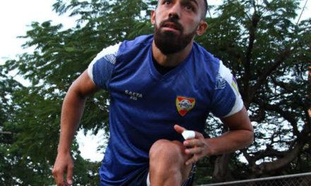 Jonatan Duche desde el día uno con el Aragua FC