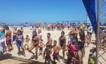 Más de 30 mil recreadores animan el Festival Deportivo, Cultural y Turístico durante Carnavales Bioseguros 2021