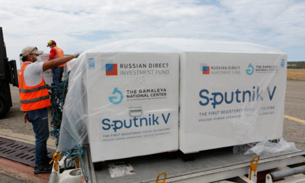 Llegó a Venezuela el primer cargamento de la vacuna rusa Sputnik V contra el Covid-19