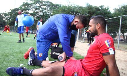 Fisioterapeuta Daniel Rodríguez está atento a la condición física del Aragua FC