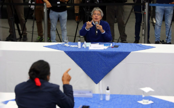 CNE de Ecuador anunció recuento de votos para definir segundo lugar entre Gullermo Lasso y Yaku Pérez