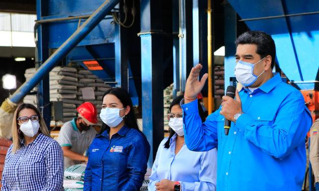 Presidente Nicolás Maduro llamó a fortalecer el Plan de Siembra y Producción 2021-2022