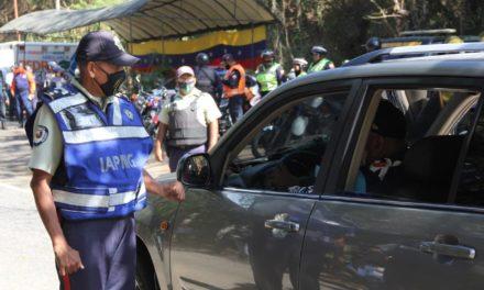 Policía de Girardot garantizó cumplimiento de las medidas de prevención en Choroní