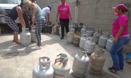 Aragua Gas distribuyó más de 700 cilindros de gas doméstico en el municipio Sucre
