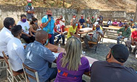 Conuqueros de Rancho Veguero sostuvieron mesa de trabajo para el reimpulso de la producción