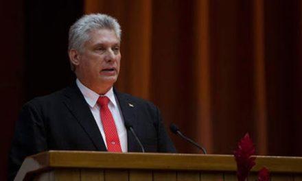 Díaz-Canel: La OEA es cómplice de los crímenes de la derecha en América Latina