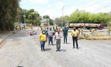 Gobernador Marco Torres dirigió mega jornada de limpieza en la UPEL Maracay