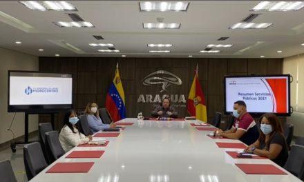 Gobernador Marco Torres evaluó avances del Plan Agua para Aragua