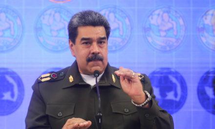Presidente Maduro denunció planes para despojar a Venezuela de su sistema de armas
