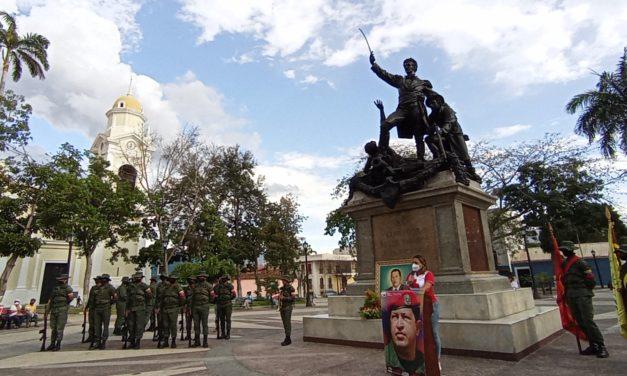 Pueblo de Ribas rindió merecido homenaje al Comandante Chávez