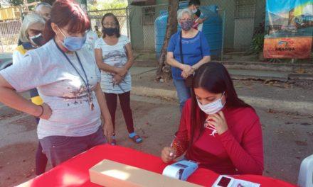 Transaragua realizó operativo de venta y recarga de tarjetas en Caña de Azúcar