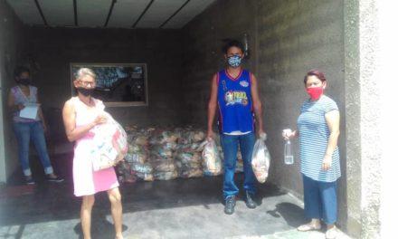2 mil familias beneficiadas con combos Clap en comunidades del municipio Sucre