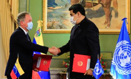 Acuerdo con el PMA de Naciones Unidas busca blindar alimentación de los venezolanos
