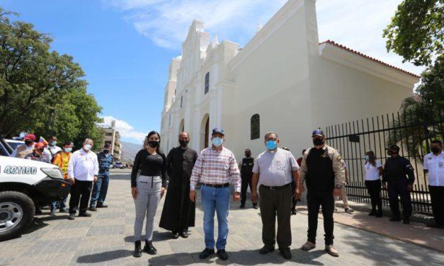 Avanza rehabilitación de la iglesia Nuestra Señora de La Candelaria de Turmero