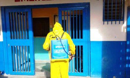 PC – Revenga intensifica jornadas de Desinfección Preventivas