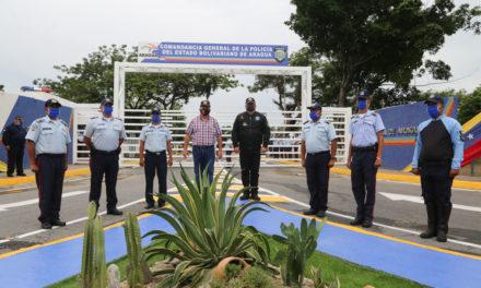 Gobernador Marco Torres rehabilitó entrada de la Comandancia General de la PBA
