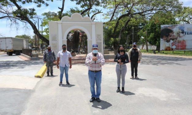 Gobernador Marco Torres supervisó obras de restauración del Monumento Samán de Güere