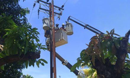 Gobierno Bolivariano instaló transformador para activar el pozo 3 en Las Guacamayas