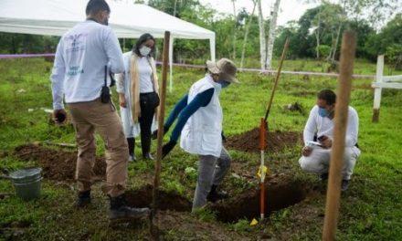Justicia Especial de Paz colombiana recupera restos de desaparecidos en Chocó