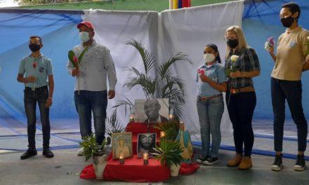 Pueblo de Aragua rindió homenaje al ministro de Educación Aristóbulo Istúriz