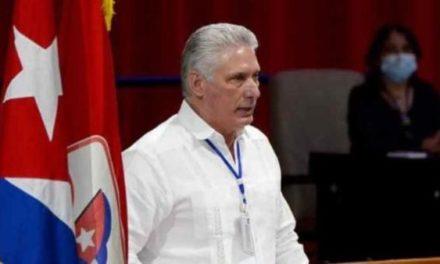 Saludan elección de Díaz-Canel como líder partidista de Cuba