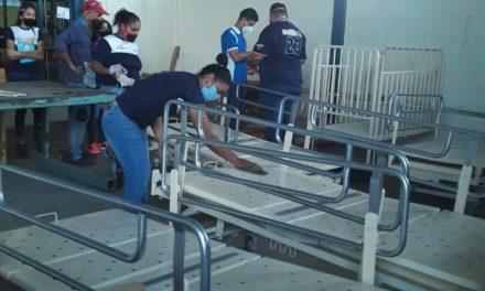 Cincatesa continúa con plan de rehabilitación de equipos de salud