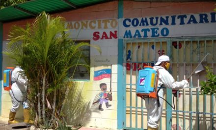 Desinfección anticovid sigue siendo prioridad para el Gobierno municipal de Bolívar