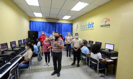 Gobernador Marco Torres inauguró Centro Bolivariano de Informática y Telemática en el liceo Agustín Codazzi